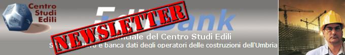 Newsletter Centro Studi Edili